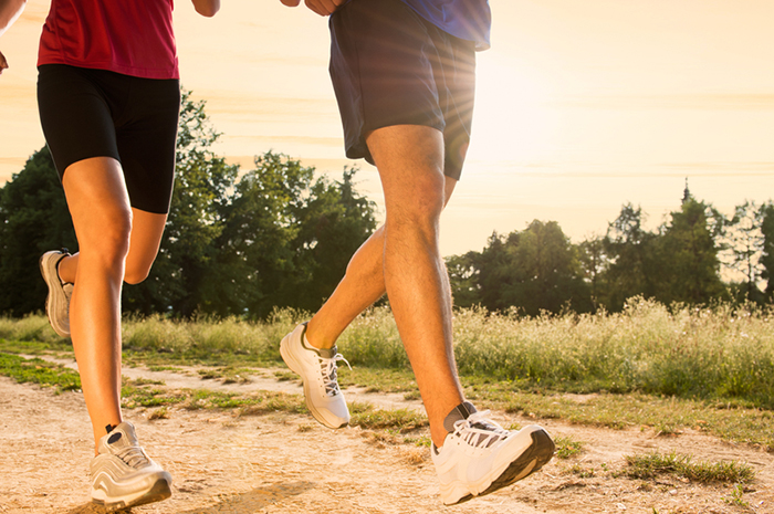Jogging v BriskWalking